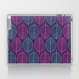 Leaf outlines Laptop & iPad Skin