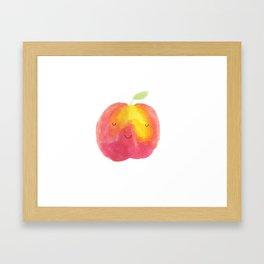 Peachy Keen Framed Art Print
