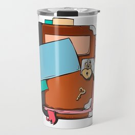 Girl's Diary, closed personal organizer Travel Mug