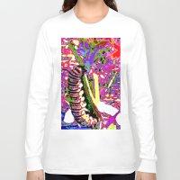 matisse Long Sleeve T-shirts featuring Matisse Caterpillar by Ellen Turner