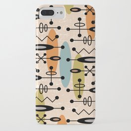 Mid Century Modern Radioactive Surfer 334 iPhone Case