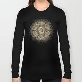 Bohemian Yoga Om Geometry Long Sleeve T-shirt