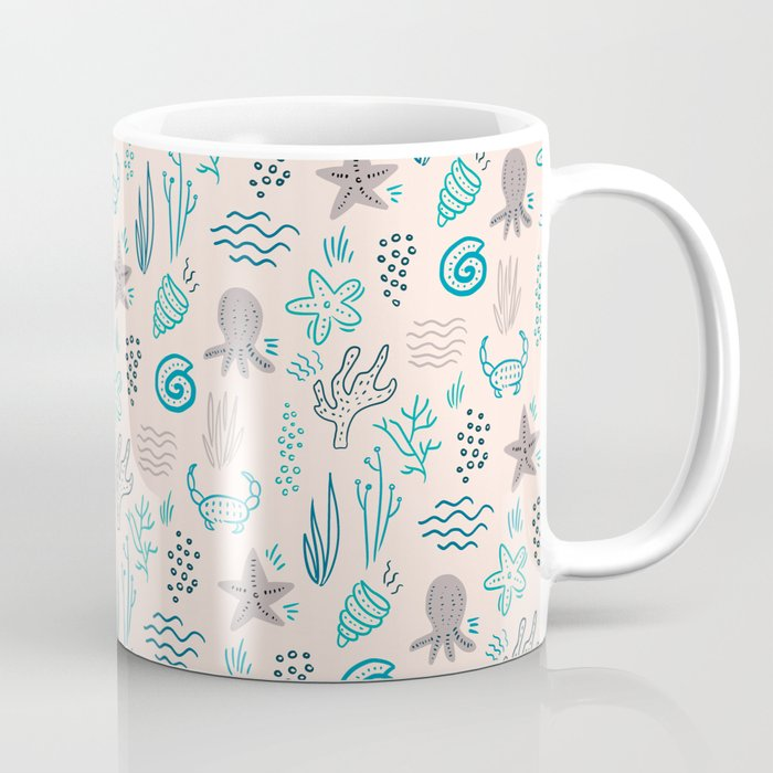 Ocean World Coffee Mug