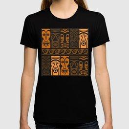 Sunset Orange Tikis! T-shirt