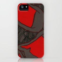 Coronary Contemporary 2 iPhone Case