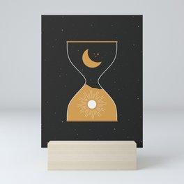 Sun & Moon Hourglass Mini Art Print