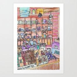 Candy Shoppe Art Print