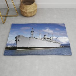 S.S. Jeremiah O'Brien Ship in South Portland, Maine Rug