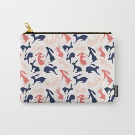 Abstract Rabbits Pattern Carry-All Pouch