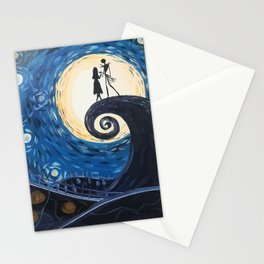 Jack Skellington & Sally Stationery Cards