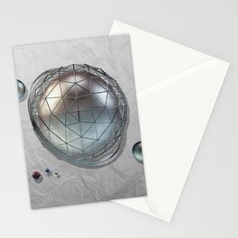Abstract ball Stationery Cards