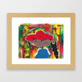 FIVE Framed Art Print