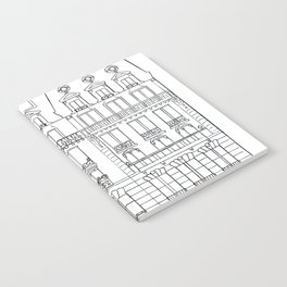 French Townhouses Notebook