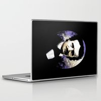 edgar allan poe Laptop & iPad Skins featuring Edgar Allan Poe by Rouble Rust