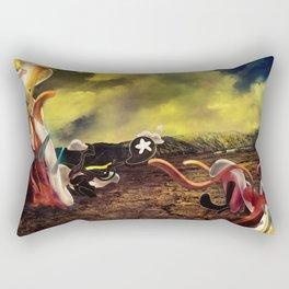 Amorphous Blobs Rectangular Pillow