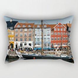 Nyhaven - Copenhagen, 2016 Rectangular Pillow