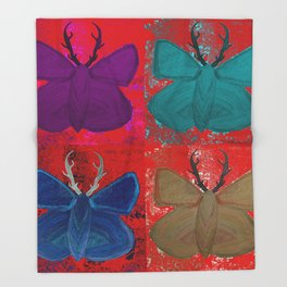 Stagerfly Collage Throw Blanket