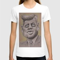 jfk T-shirts featuring JFK by chadizms