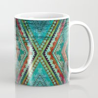 aztec Mugs featuring AZTEC by ED design for fun