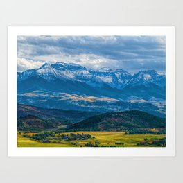 Outside of Ridgway Art Print