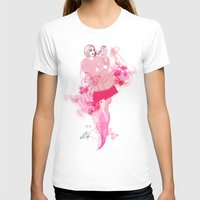 lily T-shirts featuring Lily by Anne Cresci