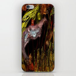 On Golden Wings iPhone Skin