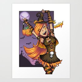 Halloween Candy! Art Print