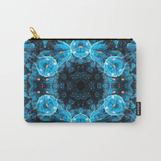 Deep Sea Mandala Carry-All Pouch