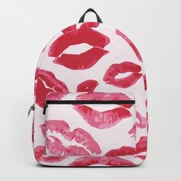 Lipstick Kisses Backpack