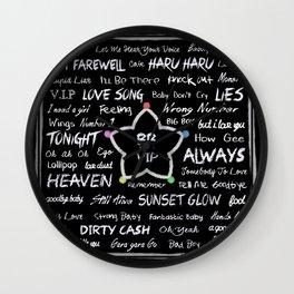 Fan Board Wall Clock