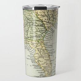 Vintage Map of the South Of The United States Of America Travel Mug