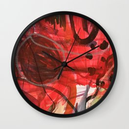 Breathe in stereo Wall Clock