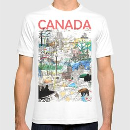 Canada (portrait version) T-shirt