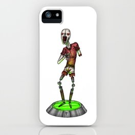 Harlequorg iPhone Case