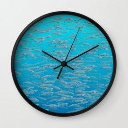 Sardines - Stay in School Wall Clock