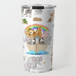 Noahs Ark Animals Travel Mug