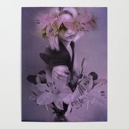 The girl who wanted to be a flower Poster