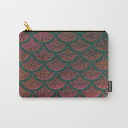 Peach Pine Scales Carry-All Pouch