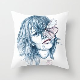 Augen-Schmetterling Throw Pillow
