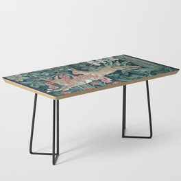William Morris Forest Rabbits and Foxglove Coffee Table