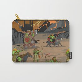 evil orcs in the castle valley Carry-All Pouch