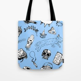 pattern witchcraft Tote Bag