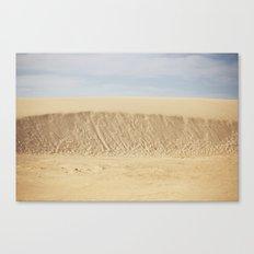 Dramatic Sand Dunes 2 Canvas Print