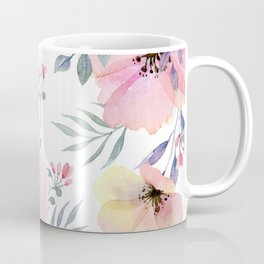 flower watercolor 1 Coffee Mug