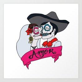 Los Enamorados Art Print