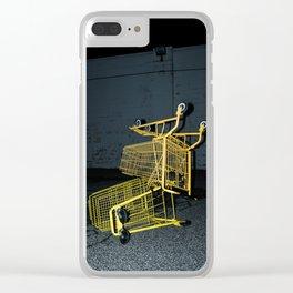 Grocery Run Clear iPhone Case