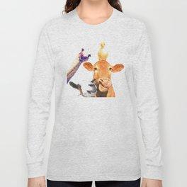 Farm Animal Friends Long Sleeve T-shirt