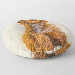 Cockapoo Floor Pillow
