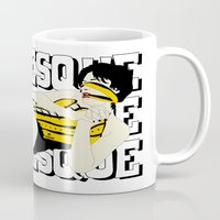 burlesque Mugs featuring BURLESQUE by zzglam