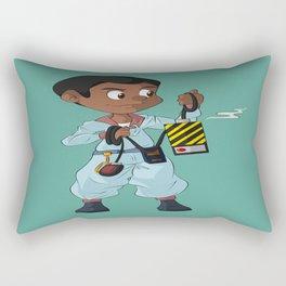 Winston Zeddemore (The Real Ghostbusters) Rectangular Pillow